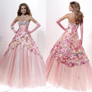 Tiffany Designs Strapless Ball Gown/Dress 4